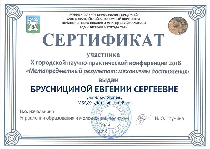 Брусницина ГНПК2018г