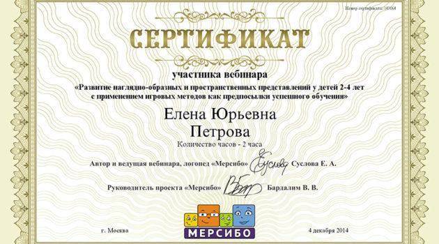 Вебинар Петрова ЕЮ 2014