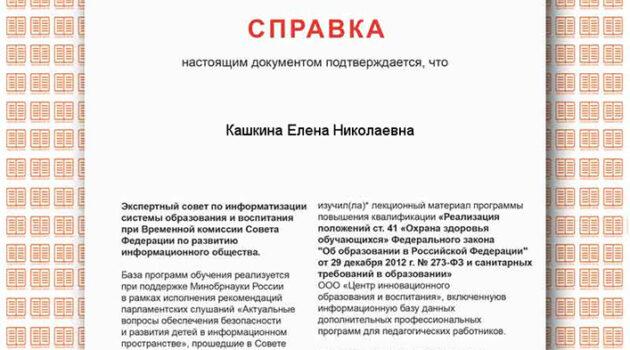 Кашкина ЕН 2017