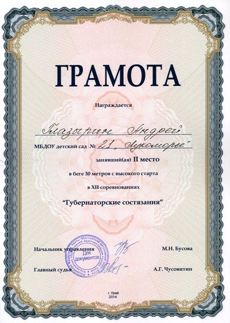 Глазырин Андрей519