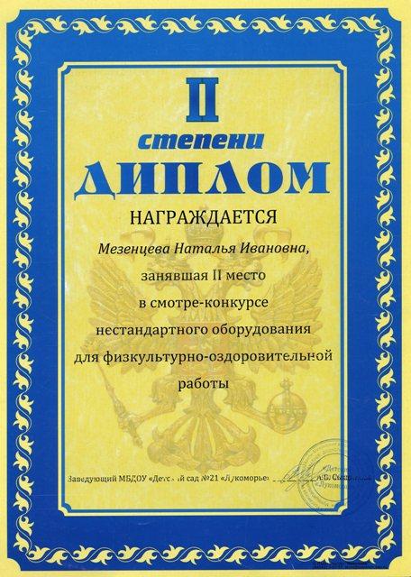 Мезенцева НИ554