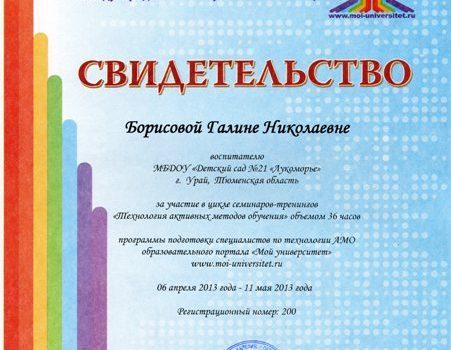 Борисова ГН595