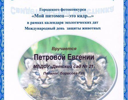 Петрова Женя587