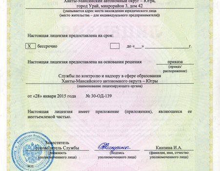 Лицензия 647