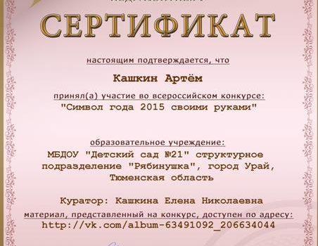 Кашкин Артём