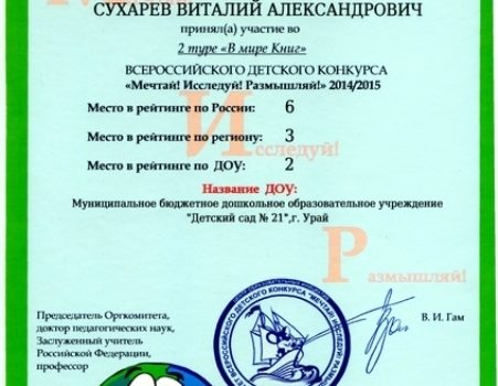 Дети Зартдинова М.М.13