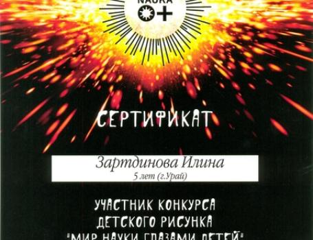 Дети Зартдинова М.М.36