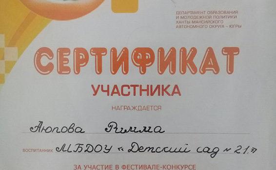 Аюпова Римма 2017