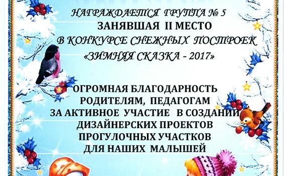 Диплом Зимняя 2017