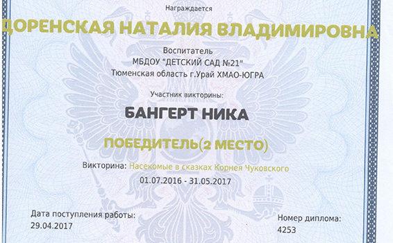 Доренская Бангерт 2017