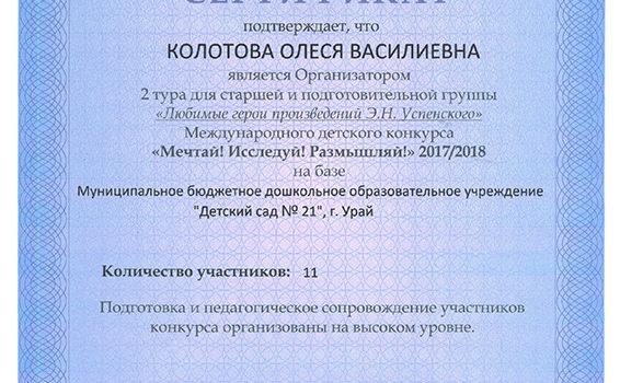 Колотова ОВ 2017