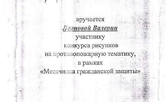 Леонова Валерия диплом2014