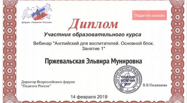 Пржевальская Э.М. вебинар 2019