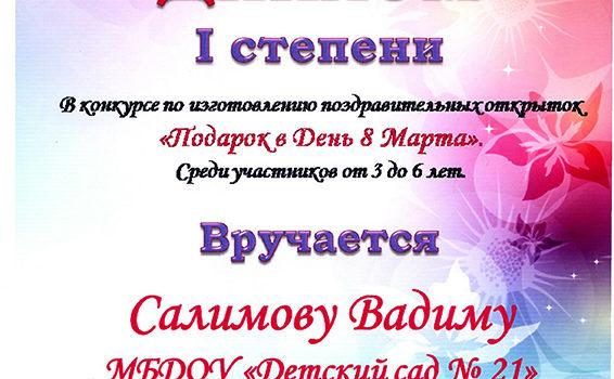 Салимов вадим 2018