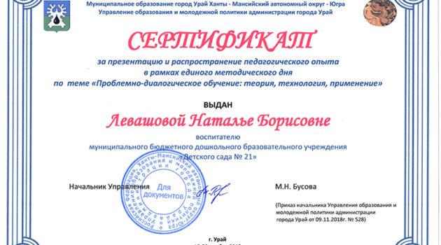 ТРИЗ Левашова Н.Б