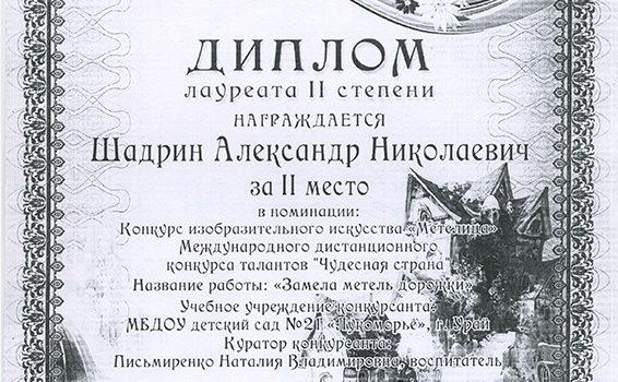 Шадрин Александр2015