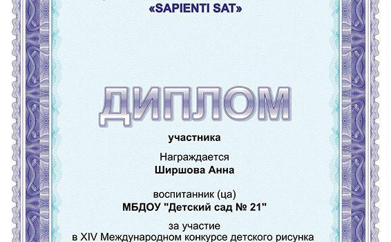 Ширшова участие2017