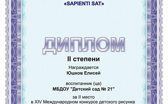 Юшков 2 место2017