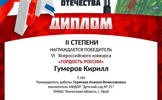 гумеров кирилл2019