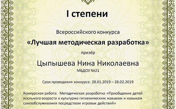 метод разработкаЦыпышева2019