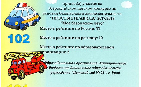 сертификат Орешников Алексей
