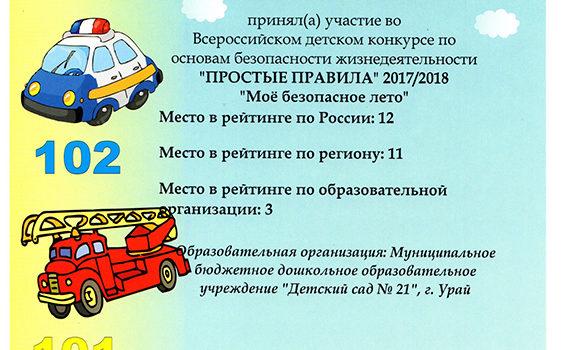 сертификат Ромашкин Артем