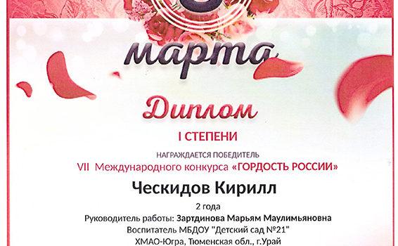 ческидов кирил 2019
