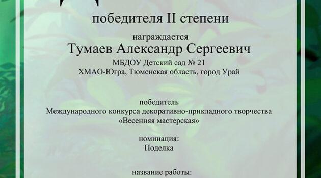 Весенняя мастерская саша Тумаев_2020