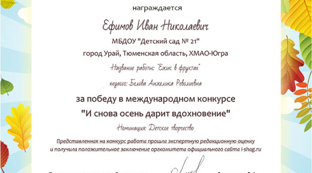 КДС-ЗФ № 59-1251-Ефимов Иван Николаевич2019