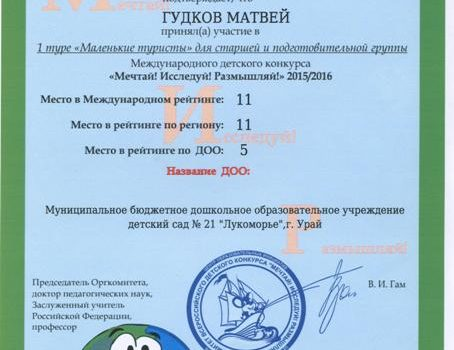 Гудков Матвей