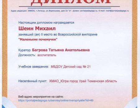 Шеин Миша 2