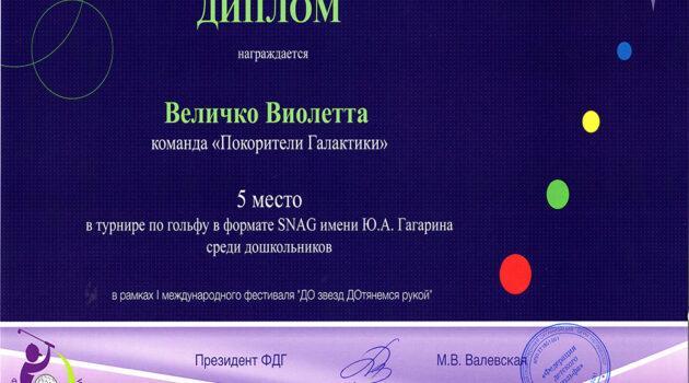 Диплом Величко Виолетта 2021